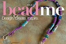 Bead Me Issue 22: Leather & Lace / See the features and projects of Bead Me Issue 22, top Leather and Lace designs! Subscribe on the App Store and Google Play Store today! #BeadMeToYou / by Bead Me Magazine