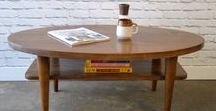Our work - Coffee tables / Solid wood pieces inspired by the straight lines and warmth of mid century modern furniture. We make handcrafted pieces influenced by Danish Modern style, but also heavily inspired by the vintage, minimalist aesthetic of downtown New York and Brooklyn. Made with love in NYC.