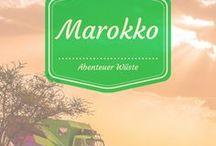 Marokko / Mit dem Wohnmobil nach Marokko. Abenteuer Wüste ganz nah!