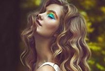 Hair & Beauty / #hairstyle #beauty #makeup #colors