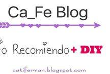 Ca_Fe Blog | Productos recomendados / Productos de belleza y otros que os recomiendo 100%