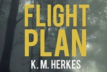 Flight Plan / Resurrection series #2:  You can't live to fight another day unless you survive the night.