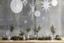 Christmas Decor / Let us inspire your winter home with warm lights, soft glows, and coziness to share. Remember to use flameless candles in all your holiday displays to eliminate fire risks and protect your furniture from wax damage. Tis' the season to be creative: shine with us!