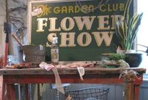 We're in the Garden / Vintage and new garden goods abound, because we love all things GARDEN!