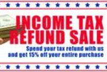 2014 Tax Season Savings-Ideas, Hints, & Tips!