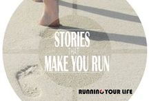 Inspirational running stories / How running can give your #strength, faith, pleasure, peace, health, confidence, clarity.  #Running helps people to #improve their life, to get back on track or find a new path with a new #purpose.