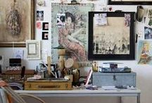 Workspace/Studios love! / #workspace #desktop #studio #art studio #artist_workspace #artist_rooms #craft_rooms #artist_studio #craft_studio