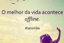 Frases por ai... / by Verônica Pappotte