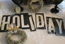 Winter Wonders / Inspirations for cold weather creations!
