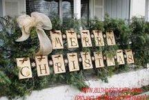 Christmas Decor Indoor/Outdoor