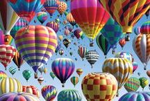 Hot Air Balloons / by Patricia Morrow