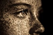 face seasoning. / not freckles, but beauty marks... / by because britni.