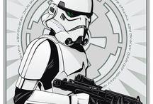 Stormtrooper. / Star Wars. Foot soldier of the Galactic Empire. / by Derek Horne