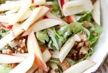 Salads / Because you can never have enough recipes of green, yummy, seasonal, fresh topped salads!