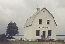 On Location- Gotland, Sweden / The beautiful setting of our Autumn Winter shoot