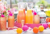 Summer Party Ideas / Balmy nights with clear skies, bright stars and good friends make for the perfect party. Check out these great ideas for your next summer get together and don't forget to light up the evening with Candle Impressions or Mirage LED candles. They won't blow out in the wind or melt in the sun!