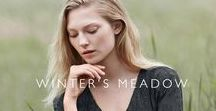 Winter's Meadow / Luxe cashmere staples meet softly tailored silhouettes, and our botanical print and embroidery elevate textured and laundered layers creating effortless, everyday looks.