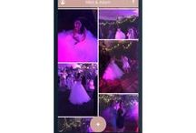 Wedding Photo App / Our wedding app lets you instantly see and download all guests photos and videos! So you can capture everyones moments on your special day!