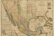 """MAPAS Y PLANOS ANTIGUOS / Algunos mapas y planos antiguos encontrados en la web y algunos otros de los archivos de la Mapoteca """"Antonio García Cubas"""" de la SMGE"""