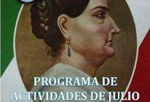 ACTIVIDADES / Programas mensuales, invitaciones y una selección de imágenes de nuestras actividades académicas en la Ciudad de México, D.F.