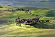 La Toscana, Italia / A view of Toscana