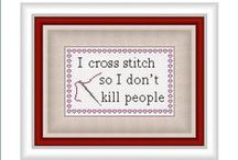 Cross stich, embroidery