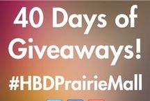 Sneak Peek for the Week 2014 / This is a contest that will be running over 40 days to celebrate our 40th anniversary. check out https://www.facebook.com/Prairiemall for daily giveaways and get your sneak peeks here.
