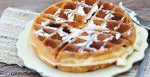 Waffle Recipes • Waffel Rezepte / Waffle Recipes, Waffles, Recipes, Breakfast / Waffeln, Waffelrezepte, Backen, Frühstück, Rezepte