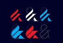Ampersand / You can tell a lot about a font by looking at the ampersand. The curves give designer a chance to get creative while still conforming to the font's parameters.   / by Madeleine Hettich