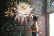 роспись стен / Будь творцом - создай свой шедевр.