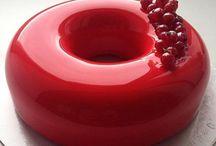 Mirror glaze / Mirror Glaze • Mirror Glaze Cakes and Desserts / Spiegelglasur • Kuchen • Desserts • Patisserie
