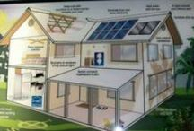 going green & off the grid homes / by L B