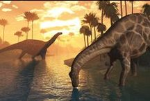 Dinosaurs / They may be extinct in real life, but it sure is fun to pretend they're not!!