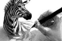 dibujos y pinturas de animales / by ivonne del castillo