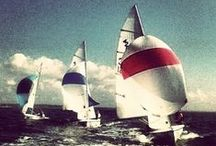 sailing. / ahh, sailing. 5 years ago, i hated it with a passion. today, it is my passion. / by Emma S.