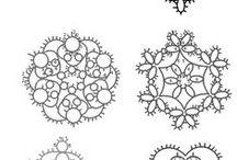 tatting frivolite frywolitka wzory