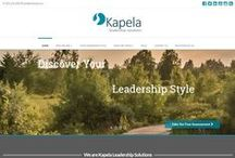 About Kapela Leadership Solutions / Kapela Leadership Solutions is a coaching and consulting firm specializing in leadership and organizational development.