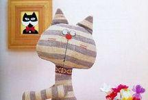 Textile toys / Текстильные игрушки / Текстильные игрушки