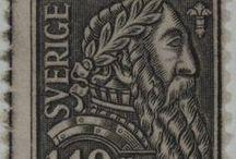 Segells suecs - Mercè 2014 / Estocolm és la ciutat convidada per les festes de la Mercè 2014. A continuació us presentem una selecció de segells suecs que formen part del fons del Gabinet Postal.