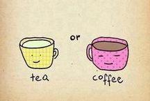 tea & coffee (+cups)