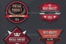 Web Elements / My badges, facebook covers designs.