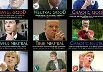 If Norwegian politics was a role-playing game...