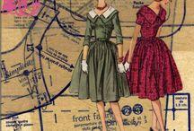 Vintage Sewing / Vintage Sewing inspiration and memorabilia