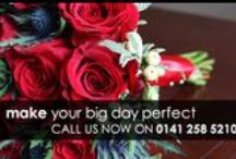 Bridal & Bridesmaid Bouquets / Arrangements created to suit bride and bridal party