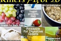 Health and Beauty Fixes / Natural remedies for health and beauty fixes