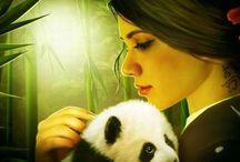 Spirit Animals / I LOVE Spirit Animals. And when I say 'love', I mean LOVE!!!!!!!!