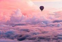 Sky / sky, clouds, night, light, day, blue, white