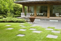 Japanese Jewel / A tranquil and contemporary Japanese style garden to complement a new pool house, set within a country estate in the Chilterns (see also Georgian Grandeur)