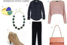 weekend style guide / Check out this board for weekend style options so you never miss a beat!