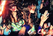 ◐Night Animal◑ / Clubbing. Drinking. Dancing. Partying. That's all you need for a Night animal. / by Emi Morihata